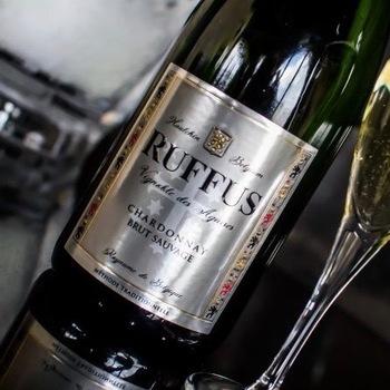 Ruffus - Chardonnay Brut Sauvage vanaf 60 flessen (10 karton)